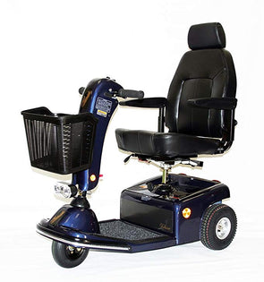 Shoprider Sunrunner 3 Wheel Personal Travel Scooters 888B-3 Blue