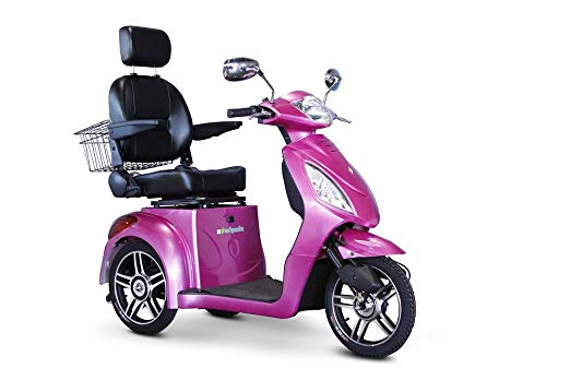EWheels 3-Wheel Electric Mobility Scooter – Pink/Magenta EW 36 M