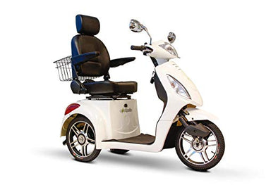 EWheels 3-Wheel Electric Mobility Scooter – White EW 36 W