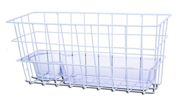 Essential Medical Supply Wire Basket with Tray Folding Walkers W1614
