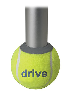 Drive Medical Deluxe Walker Rear Tennis Ball Glides - Yellow