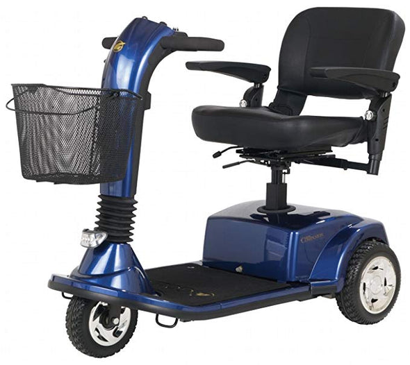 Golden Technologies Companion 3 Wheel Mid Size Luxury Scooters GC240 blue