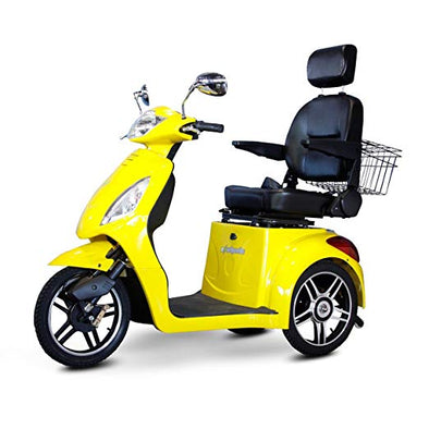 EWheels 3-Wheel Electric Mobility Scooter – Yellow EW 36 Y