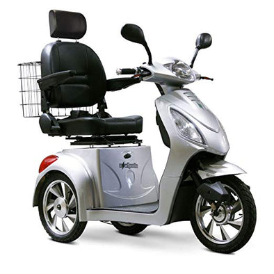EWheels 3-Wheel Electric Mobility Scooter – Silver EW 36 S