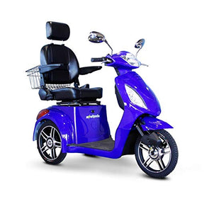 EWheels 3-Wheel Electric Mobility Scooter – Royal Blue EW 36 B