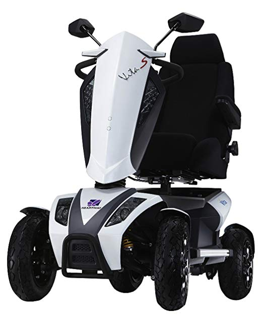 Heartway Vita S Electric Power Scooter 4 Wheel Suspension - LCD Control