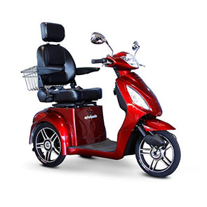 EWheels 3-Wheel Electric Mobility Scooter – Red EW 36 R
