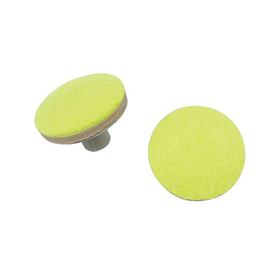 Drive Medical Replacement Tennis Ball Glide Pads Tennis Ball Glides - Yellow 4 count