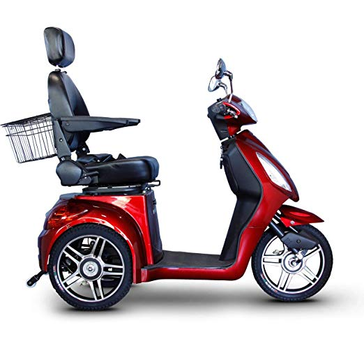 EWheels 3-Wheel Electric Mobility Scooter – Red
