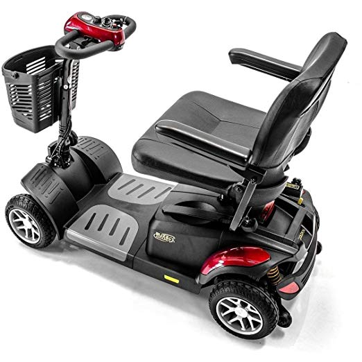 Image result for 1. BUZZAROUND EX Extreme 4-Wheel Long Range Travel Heavy Duty Scooter