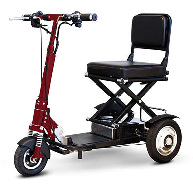EWheels Speedy Portable Folding Indoor/Outdoor Scooter Black/Red EW 01