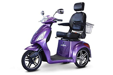 EWheels 3-Wheel Electric Mobility Scooter – Purple/Lavender EW 36 L
