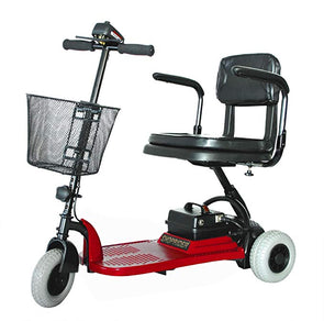 Shoprider Echo Lightweight 3 Wheel Scooters SL73 Red