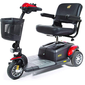 Golden Technologies BuzzAround EX Extreme 3-Wheel Heavy Duty Long Range Travel Scooter
