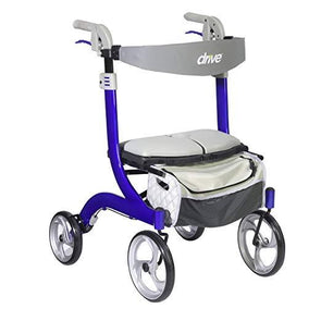 Drive Medical Nitro DLX Euro Style Folding Walker Rollators