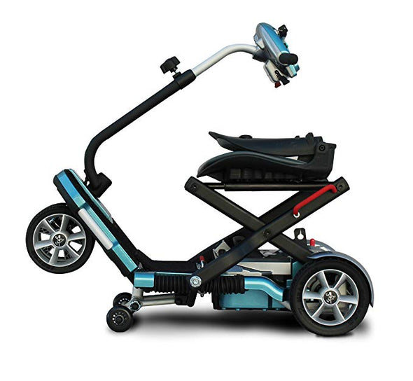 EV Rider Transport Plus Manual Folding Mobility Scooter with SLA Batteries