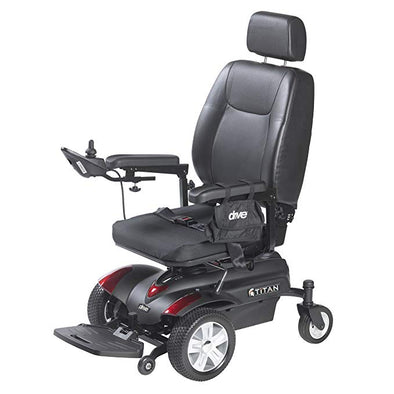 Drive Medical Titan Front Wheel Drive Power Wheelchairs