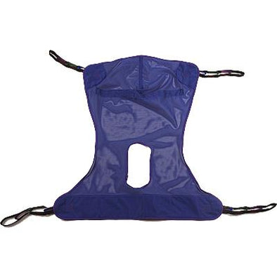 Invacare Mesh Sling Full Body with Commode Opening - Medium