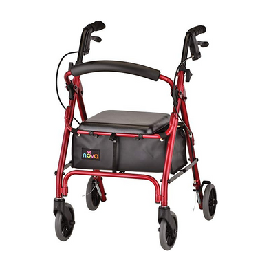 "Nova Medical GetGo Petite Folding Lightweight Rollators with 6"" Wheels"