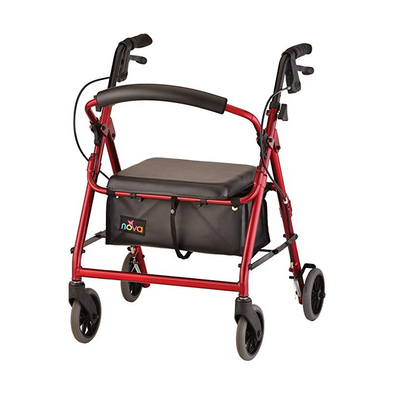 "Nova Medical GetGo Junior Folding Lightweight Rollators with 6"" Wheels"