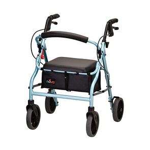 "Nova Medical Zoom Series Lightweight Folding Rollators with 8"" Wheels"