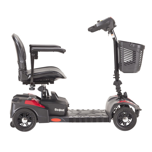 Drive Medical Scout Compact Travel Power Scooter SFSCOUT4