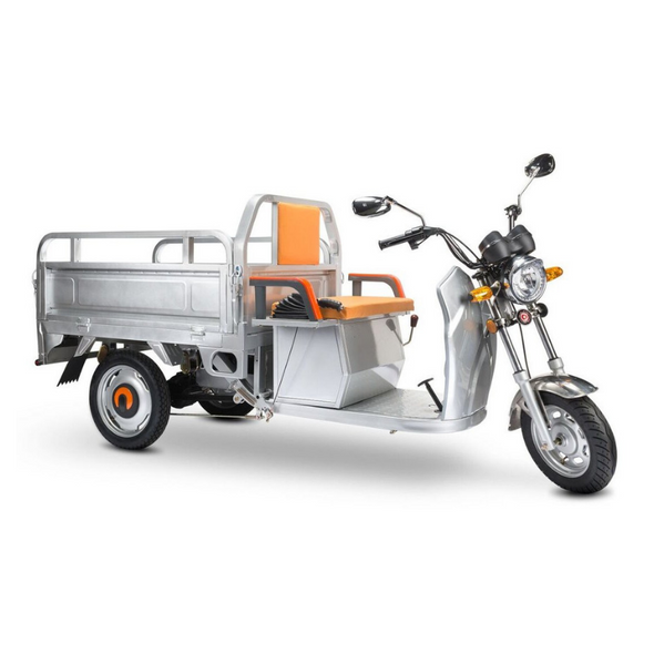 PET Electric Cargo Scooter Truck with Automatic Tail Bed Lifting – 3 Wheeled