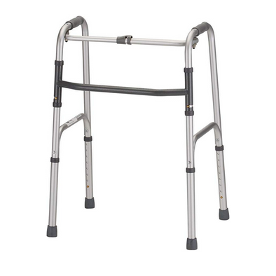 Nova Medical Adult Folding Walker with Single Button Release 4070D