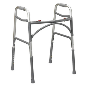 Drive Medical Heavy Duty Push Button Bariatric Walker 10220-1