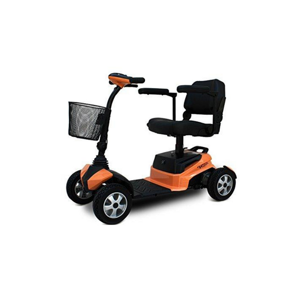 EV Rider – The RiderXpress 4 Wheel Power Scooter – Silver, Blue, or Orange