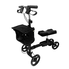 MOBB Healthcare Folding Knee Walker with Front & Rear Brakes