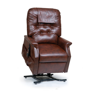 Golden Technologies Capri 2-Position Deluxe Reclining Assisted Lift Chair-Chestnut Vinyl