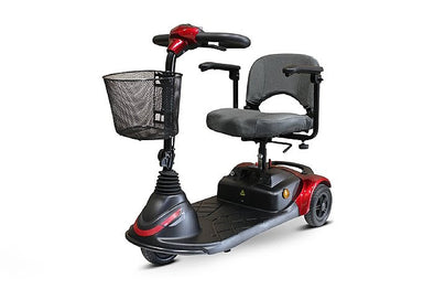 Ewheels Portable 3-Wheel Travel Mobility Scooters EW-M40 Red