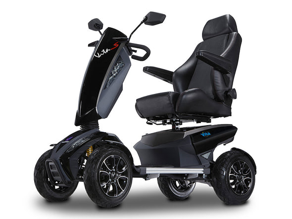 EV Rider Vita Sport Deluxe 4-Wheel Power Scooter – Black