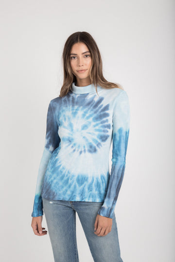 Thermal Turtleneck - Ink Starburst