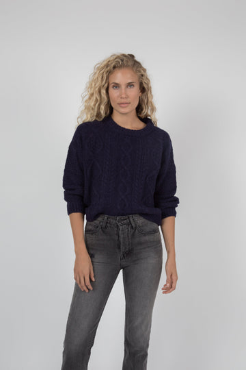 Birch Sweater - Navy