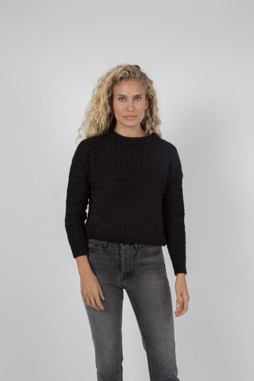 Kiernan Crew Sweater - Black