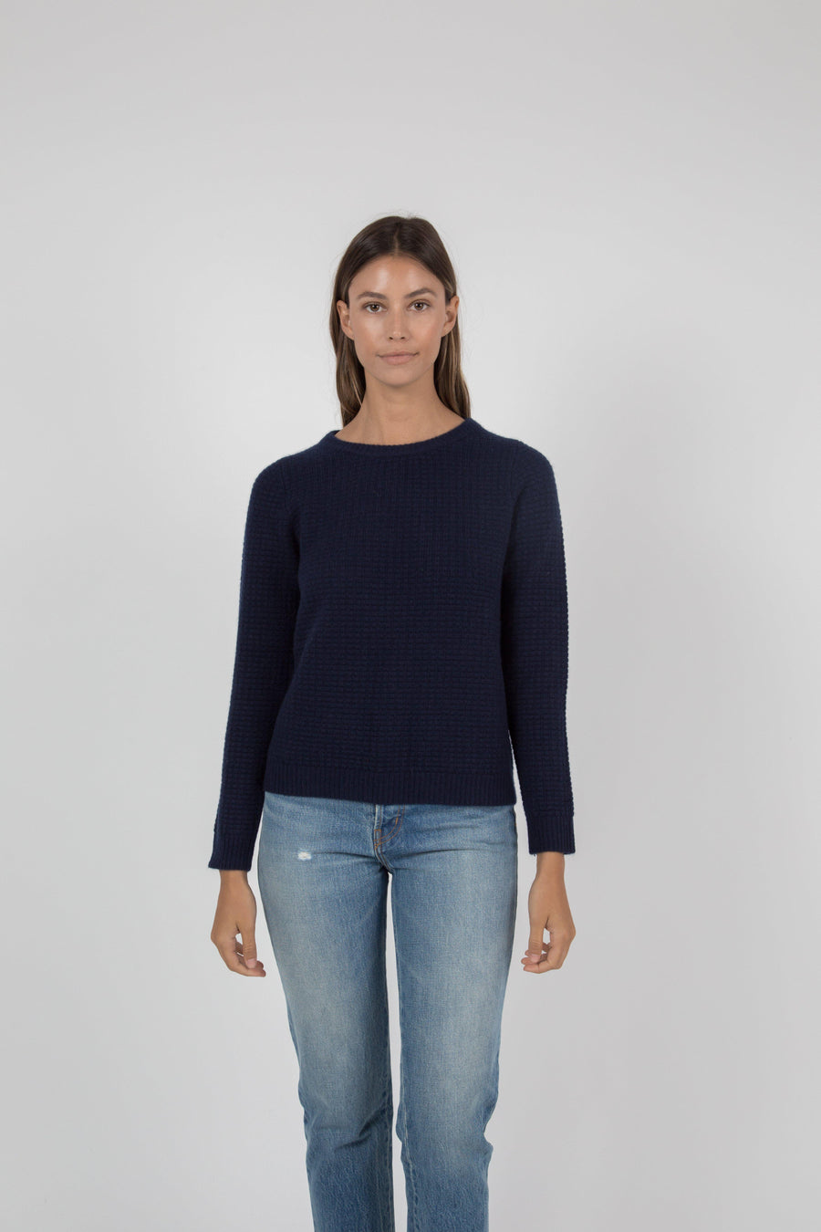 Mia Sweater - Navy