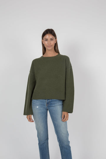 Shelby Sweater - Army