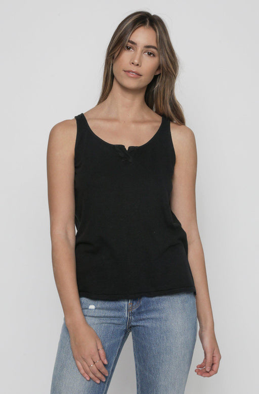 henley tank top