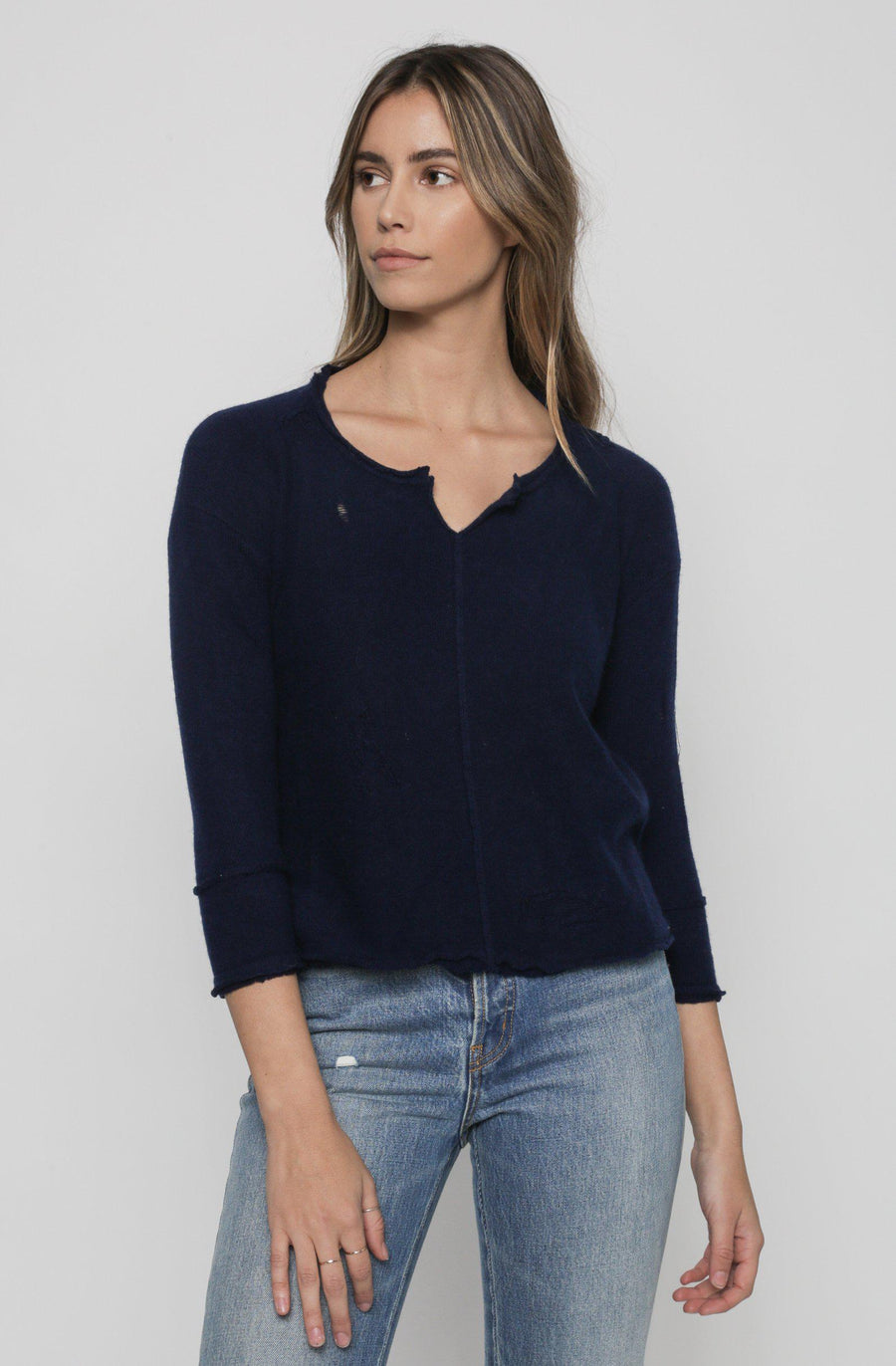 Drifter Sweater - Navy