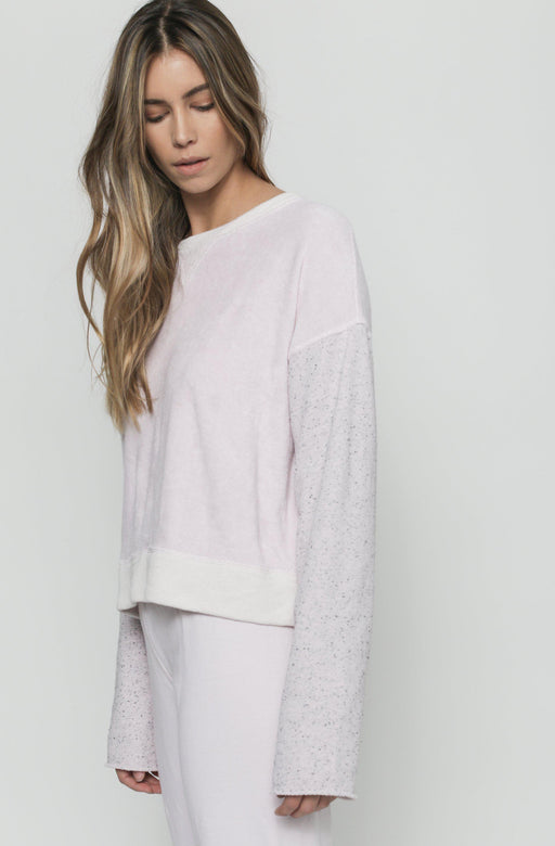 Patch Isabel Sweatshirt - Petal Pink