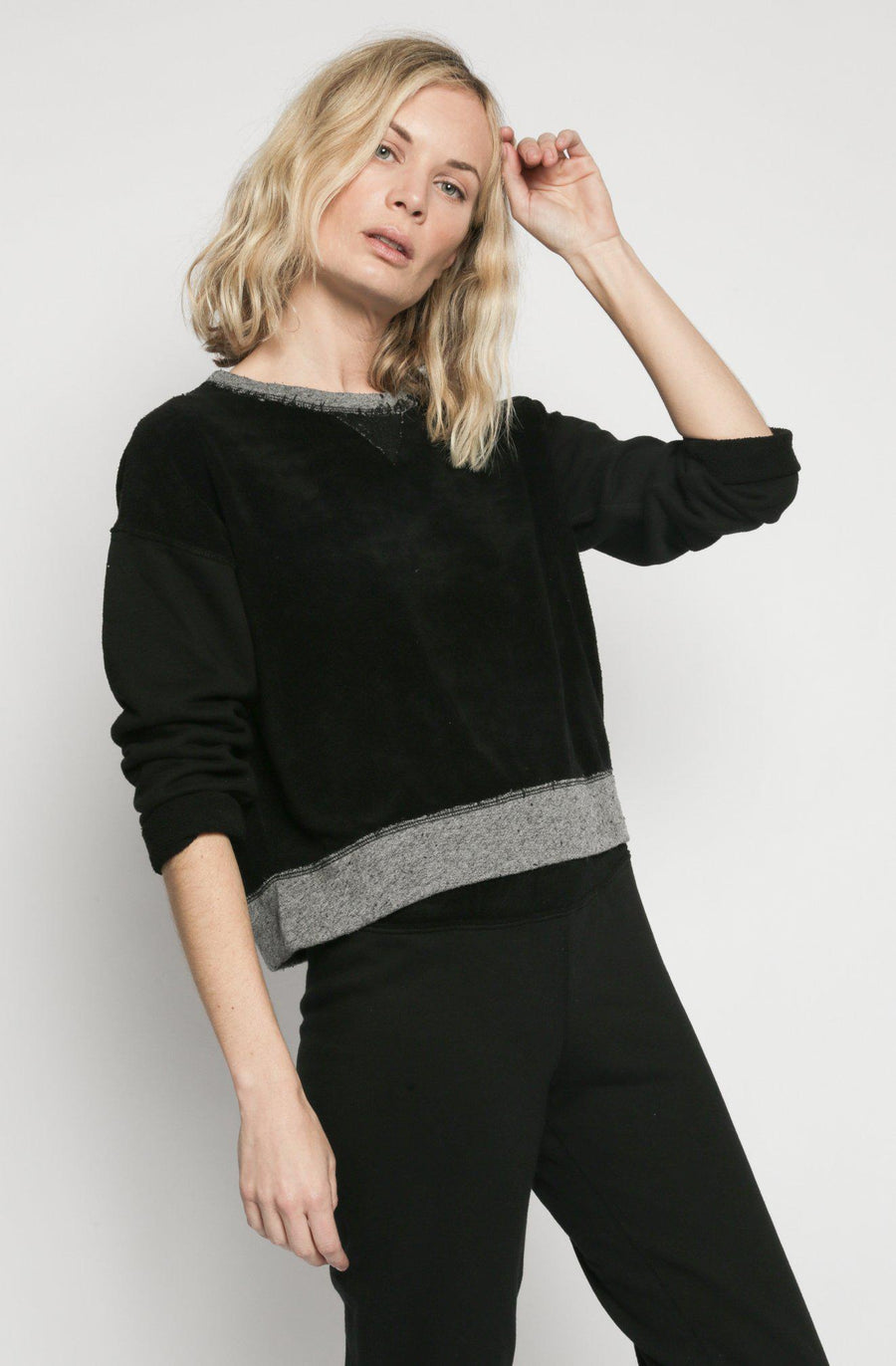 Patch Isabel Sweatshirt - Black