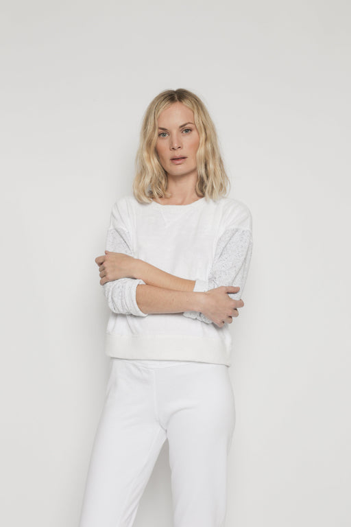 Patch Isabel Sweatshirt - White