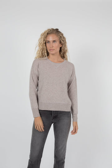 Tina Cashmere Sweater - Marble
