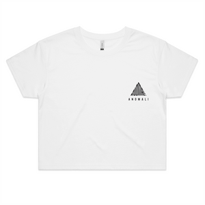 Anomali: Original Semi-Crop (White)