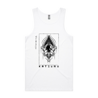 Katsumu: The Eye Opener Lowdown Tank-Top (White)