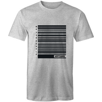 Katsumu: We The People of Barcodes Masculine S.Tee (Grey Marle)