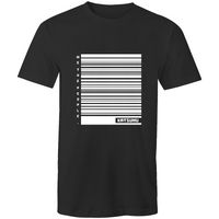 Katsumu: We The People of Barcodes Masculine S.Tee (Black)