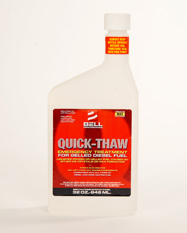 Quick Thaw Restoring Treatment for Gelled Diesel Fuel